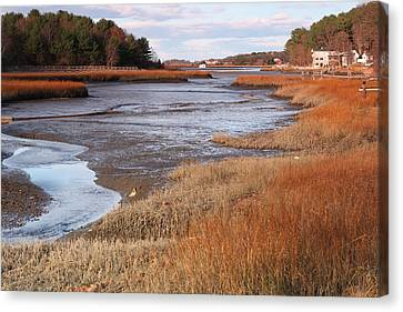 Salem Willows Park Ipswich Mass Canvas Print by Gail Maloney