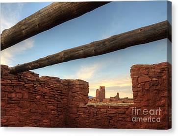Salinas Pueblo Mission Abo Ruin 2 Canvas Print by Bob Christopher