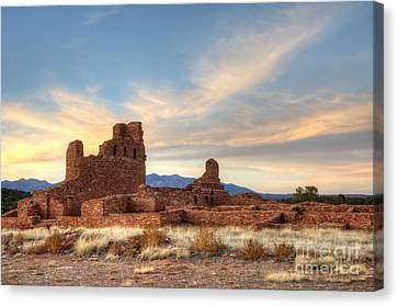 Salinas Pueblo Mission Abo Ruin 4 Canvas Print by Bob Christopher