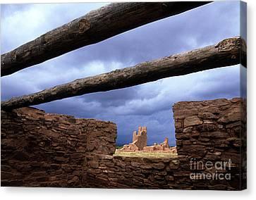 Salinas Pueblo Mission Abo Ruins 5 Canvas Print by Bob Christopher