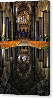 Salisbury Cathedral Canvas Print
