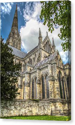 Salisbury In The Morning Canvas Print