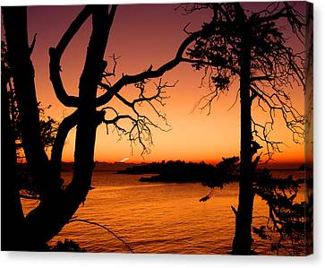 Salish Sunrise II Canvas Print by Randy Hall