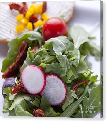 Sallad Canvas Print by New  Orleans Food