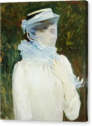 Half-length Canvas Print - Sally Fairchild by John Singer Sargent