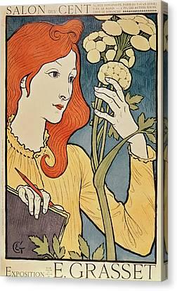 Salon Des Cent Canvas Print