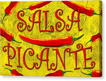 Canvas Print featuring the photograph Salsa Picante by Selke Boris