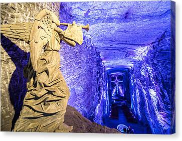 Salt Cathedral Angel Canvas Print by Jess Kraft
