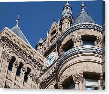 Canvas Print featuring the photograph Salt Lake City - City Hall - 1 by Ely Arsha