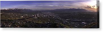 Salt Lake Valley Canvas Print