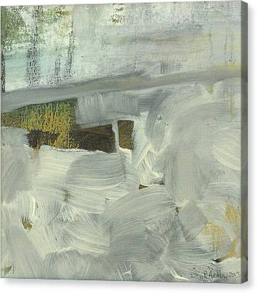 Canvas Print featuring the painting Salt Marsh C2013 by Paul Ashby