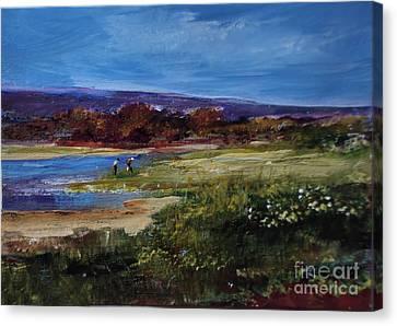 Salt Marsh Series 2 Canvas Print