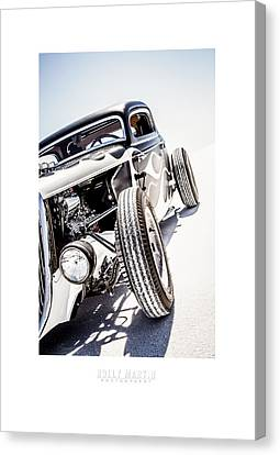 Salt Metal Canvas Print
