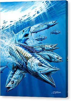 Salt Weapons Canvas Print by Dennis Friel