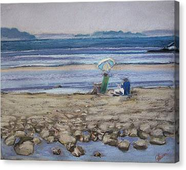 Saltair Canvas Print