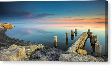 Salton Sea Reflections Canvas Print