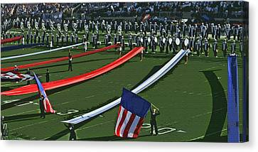 Salute To America Canvas Print by Tom Gari Gallery-Three-Photography