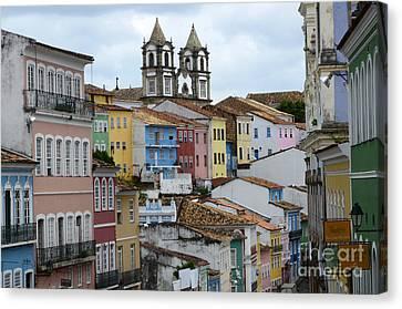 Salvador Brazil The Magic Of Color 2 Canvas Print by Bob Christopher