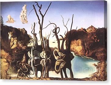 Salvador Dali Canvas Print by Christo Grudev
