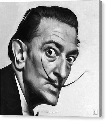 Salvador Dali Canvas Print by Lonnie Christopher