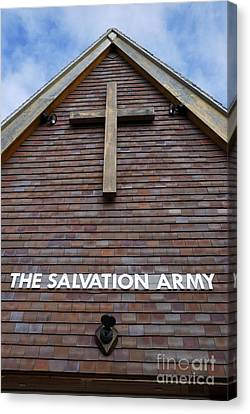 Salvation Canvas Print by Doug Wilton