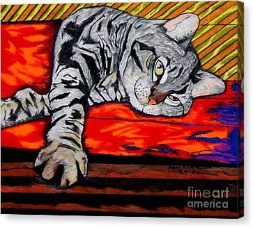 Sam The Cat Canvas Print