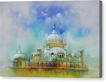 Samadhi Ranjeet Singh Canvas Print by Catf