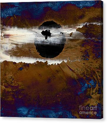 Samhain I. Winter Approaching Canvas Print by Paul Davenport
