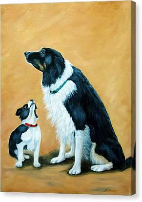 Sammy And Breagh Canvas Print