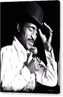 Sammy Davis Jr. Performing Mr. Bojangles Canvas Print by J Marielle