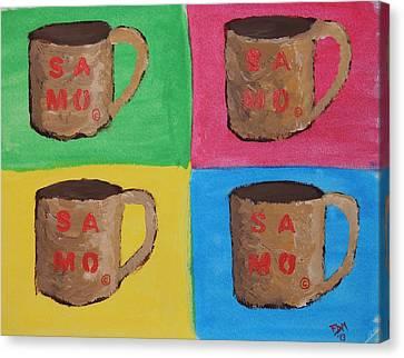 Samo Mug Canvas Print