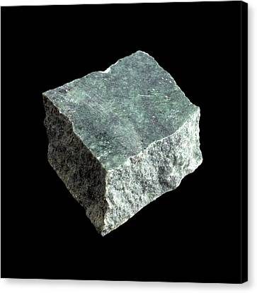 Sample Of Serpentine Canvas Print by Science Photo Library