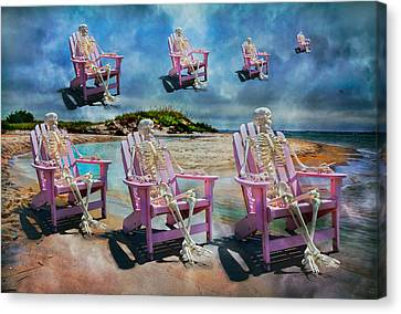 Sam's Imagination  Canvas Print by Betsy Knapp