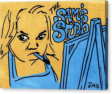 Sam's Studio Canvas Print