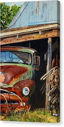 Sams Truck Canvas Print