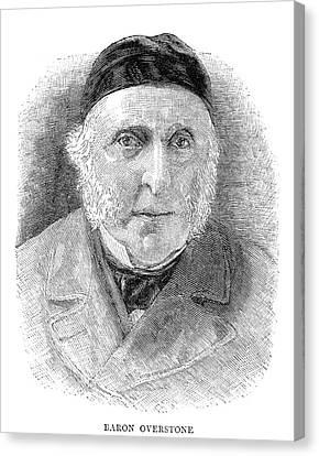 Samuel Jones Loyd (1796-1883) Canvas Print by Granger