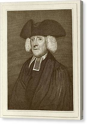 Samuel Pegge Canvas Print by Middle Temple Library