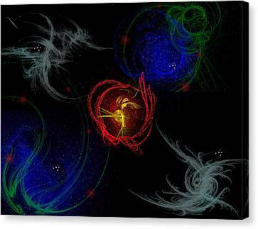 Samuels Energy Canvas Print