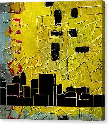 San Antonio 002 C Canvas Print by Corporate Art Task Force
