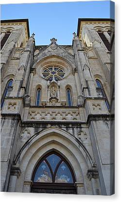 Shawn Marlow Canvas Print - San Antonio Church 02 by Shawn Marlow