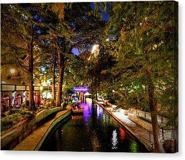 San Antonio Hdr 001 Canvas Print by Lance Vaughn