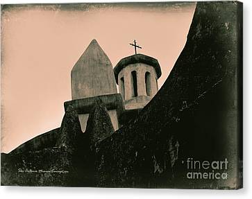 San Antonio Mission Concepcion Canvas Print by Gerlinde Keating - Galleria GK Keating Associates Inc