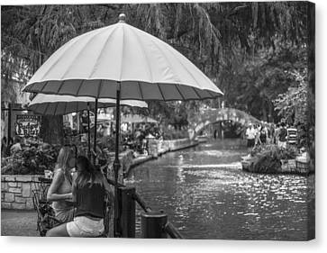 San Antonio River Walk Canvas Print