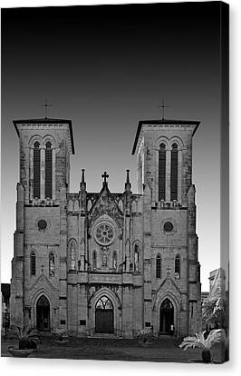 Christian Sacred Canvas Print - San Antonio - San Fernando Cathedral by Christine Till