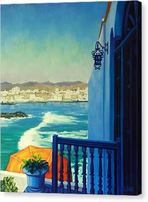 San Bartolo Bay,peru Impression Canvas Print