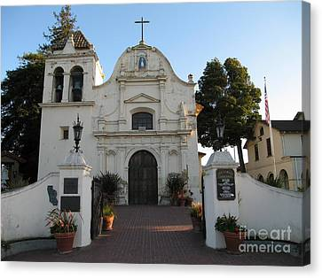 Canvas Print featuring the photograph San Carlos Cathedral by James B Toy