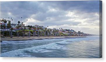 San Clemente Early Morning Canvas Print by Joan Carroll