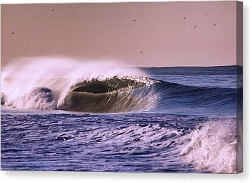 San Clemente Wave Canvas Print by Bob Hasbrook