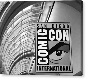 San Diego Comic Con Canvas Print