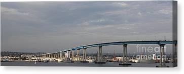 San Diego Coronado Bridge 5d24388 Canvas Print